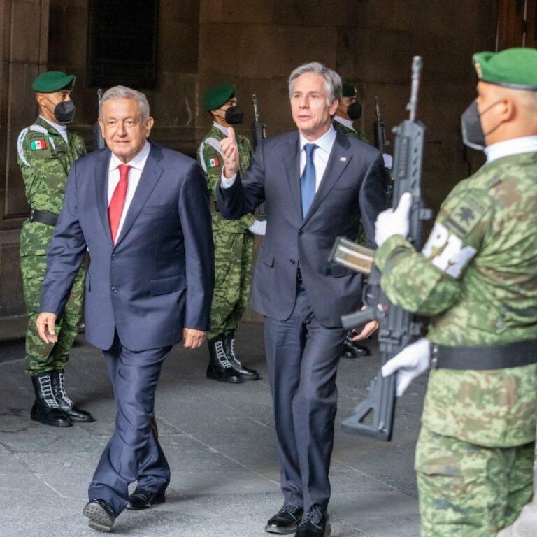 NRGBriefs: Blinken Visits Lopez Obrador In CDMX